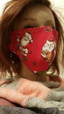 Gesichtsmaske Mund- Nasenabdeckung Maske Erwachsene Weihnachtsmann Schlitten