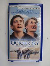 October Sky VHS 2000 Special Edition - Bullet Case Jake Gyllenhaal
