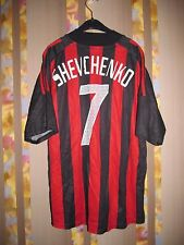 AC MILAN ITALY 2002/2003 HOME FOOTBALL SHIRT JERSEY RARE VINTAGE SHEVCHENKO #7