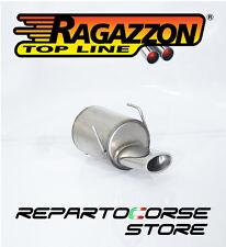 RAGAZZON SCARICO TERMINALE OVALE 115x70mm FIAT 500S (Type 312) 1.2 51kW 2013>>