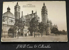 Old Postcard Of London, Imperial Institute 1926