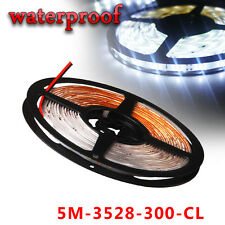 Multi Color 5M/16.4ft 300 SMD 3528 Flexible LED Light Strip Tape IP67 Waterproof