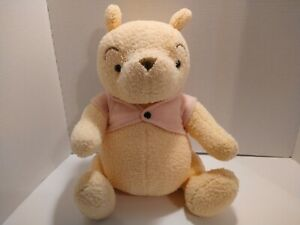 """Vintage DISNEY CLASSIC WINNIE THE POOH Plush Jointed 18"""" CANASA Trading Co"""