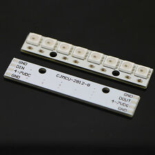 WS2812 WS 2811 5050 RGB LED Lamp Panel Module 5V 8-Bit Rainbow LED Precise