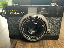 Petri Color 35 Compact 35mm Viewfinder Camera