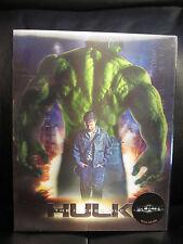 Incredible Hulk [NovaMedia] Blu-Ray Steelbook Lenticular Slip New Sealed Mint