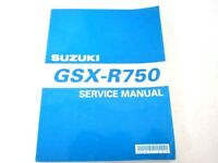 New Suzuki GSXR 750 GSX-R750 GSXR750 2000 Service Manual  99500-37110-01E