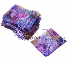 """50 100 3.5""""x 5"""" Coralline Wedding Ball Organza Candy Pouch Party Favor Gift Bags"""