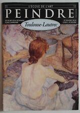 L'Ecole de l'Art Peindre Toulouse-Lautrec n°11- Les secrets de la technique ...