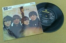 """"""" BEATLES FOR SALE  """" SUPER UK ORIGINAL EP VERY LOW MOTHER STAMPERS 1A 1R"""