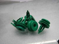 Jeep Grand Cherokee WJ door card mount green push fit clips plugs plug x5 #BR