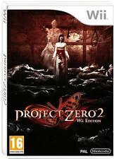 Project Zero 2 Wii Edition Nintendo Wii PAL UK **FREE UK POSTAGE!!**