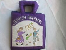 """Pockets of Learning-Jewish Holiday-Soft, Sculptured """"Fun To Learn"""" Book"""