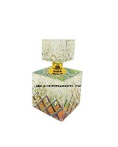 12ml Crystal Cut Cylinder Bottle Perfume Fragrance Attar Ittar Oil décor wedding
