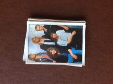 F1e trade card merlin sticker bbc pop stars no 121 def leppard