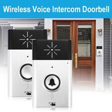 300m Wireless Voice Intercom Doorbell 2-way Talk Monitor Home Security USB HS842