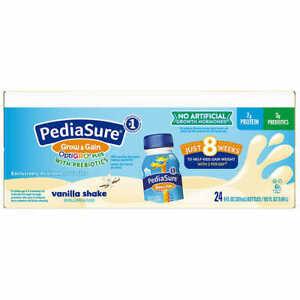 PediaSure OptiGRO Vanilla Kids Shake 8 fl oz., 24-count