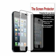 3x HD Clear LCD Screen Protector Guard Film Saver for Apple iPhone 5 5s