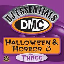 DMC DJ Essentials Halloween & Horror Vol 3 Spooky Scary Party DJ Designed Disc