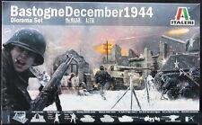 Italeri Models 1/72 BASTOGNE DECEMBER 1944 The Battle of the Bulge Figure Set
