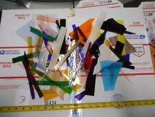3 pounds scrap pieces stained glass #3
