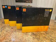 QTY 4 KODAK EKTAGRAPHIC UNIVERSAL 80 SLIDE TRAY MODEL 2 W/BOX