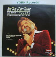 KENNY ROGERS - For The Good Times - Ex Con LP Record
