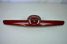 NEW OEM Mazda 6 Liftgate Tailgate Trunk Garnish Trim Emblem Sangria Red Mica