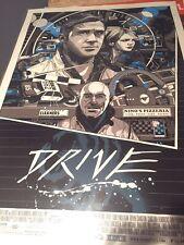 Tyler Stout Drive 2 Mondo Poster GLOW IN THE DARK Variant Art Print Ryan Gosling
