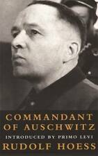 Commandant Of Auschwitz (Age of Dictators 1920-1, Rudolf Hoess, Excellent