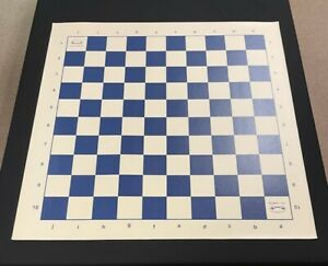 Musketeer Variant Chess Board - Vinyl - 10x10 Square - Blue