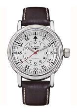 Polierte Mechanisch-(Automatisch) Armbanduhren aus Edelstahl mit 12-Stunden-Zifferblatt