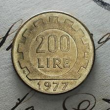 1977  Repubblica Italiana   200   lire