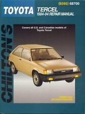 Toyota Tercel, 1984-94 (Chilton Total Car Care Series Manuals)-ExLibrary