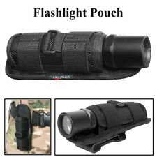 UltraFire Rotatable Flashlight Pouch Holster Tactical Holder 360 Degrees Black