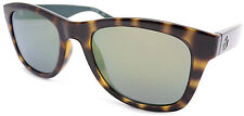 LACOSTE Sunglasses Brown Havana with Black Arms/ Gold Mirror Lenses L789 035