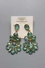 Gorgeous Ladies Emerald Green Drop Earrings. Great Condition. Bargain Price!