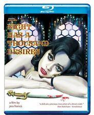 Night Has A Thousand Desires blu-ray Mondo Macabro Jess Franco Lina Romay uncut