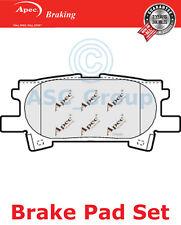 Apec Rear Brake Pads Set OE Quality Replacement PAD1345