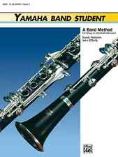 "YAMAHA BAND STUDENT ""CLARINET"" MUSIC BOOK LEVEL 2 ON SALE INSTRUCTION BRAND NEW!"
