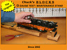 Chuck's Blocks O Gauge Test Stand for Lionel Trains, Others!