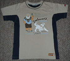 Vintage 1984 Santaworld (Tomteworld) Shirt Sweden Theme M Christmas Santa Claus