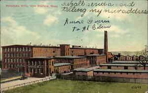 New Bedford MA Potomska Mills c1910 Postcard