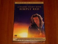 SIMPLY RED DVD A STARRY NIGHT LIVE HAMBURG 1992 CONCERT FOOTAGE DOCUMENTARY New