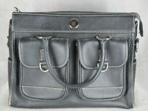 Dooney & Bourke womens leather purse handbag black