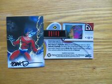 1994 SKYBOX DC MASTER SERIES ORION CARD SIGNED DAVE DEVRIES ART