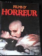 NIGEL ANDREWS  FILM D'HORREUR  1987 DRACULA FRANKENSTEIN SOS FANTOME CARRIE...