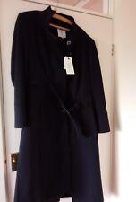 Navy winter coat by jasper conran size 18 NEW