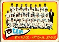 1965 Topps Baseball # 91 Chicago Cubs Team  EX/NM