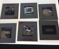 Lot of 14Vintage 1970's 35mm Color Photo Slide CEMETERY Tombstones Graveyard